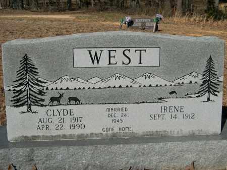 WEST, CLYDE - Sharp County, Arkansas | CLYDE WEST - Arkansas Gravestone Photos