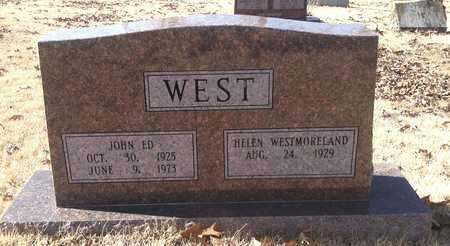 WEST, JOHN ED - Sharp County, Arkansas | JOHN ED WEST - Arkansas Gravestone Photos