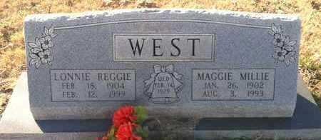 WEST, MAGGIE MILLIE - Sharp County, Arkansas | MAGGIE MILLIE WEST - Arkansas Gravestone Photos