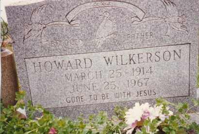 WILKERSON, HOWARD - Sharp County, Arkansas | HOWARD WILKERSON - Arkansas Gravestone Photos