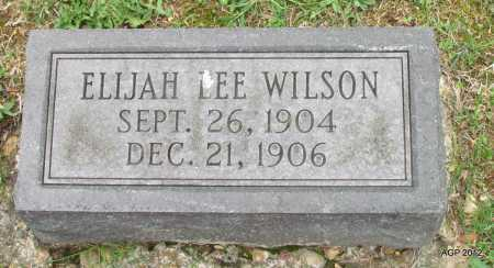 WILSON, ELIJAH LEE - Sharp County, Arkansas | ELIJAH LEE WILSON - Arkansas Gravestone Photos