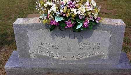 YATES, JAHUE STOKELY - Sharp County, Arkansas | JAHUE STOKELY YATES - Arkansas Gravestone Photos