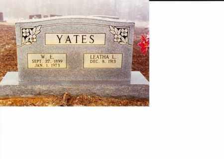 HILL YATES, LEATHA LAVADA - Sharp County, Arkansas   LEATHA LAVADA HILL YATES - Arkansas Gravestone Photos