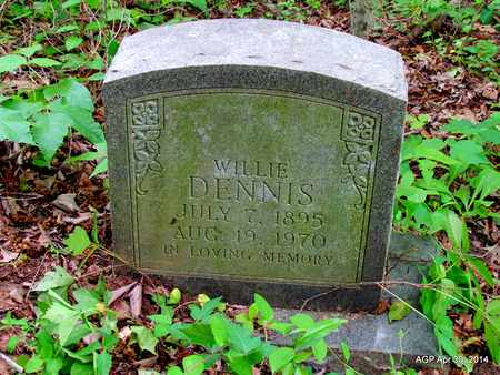 DENNIS, WILLIE - St. Francis County, Arkansas | WILLIE DENNIS - Arkansas Gravestone Photos
