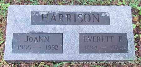 HARRISON, JOANN - St. Francis County, Arkansas | JOANN HARRISON - Arkansas Gravestone Photos