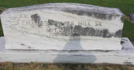HILL, CHARLES  WALTER - St. Francis County, Arkansas   CHARLES  WALTER HILL - Arkansas Gravestone Photos