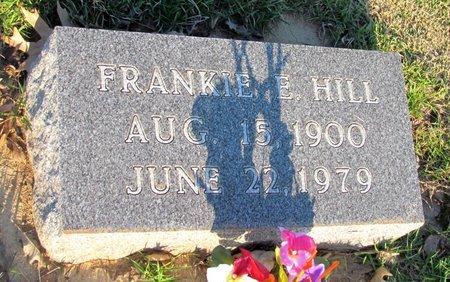 HILL, FRANKIE E. - St. Francis County, Arkansas   FRANKIE E. HILL - Arkansas Gravestone Photos