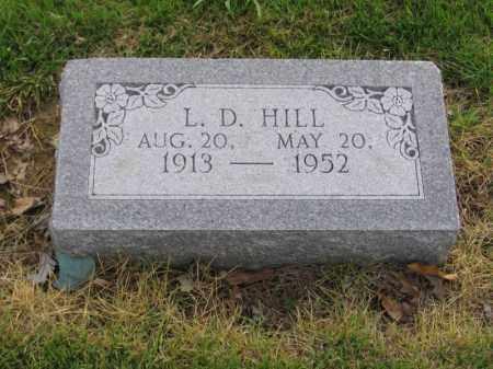 HILL, L.D. - St. Francis County, Arkansas | L.D. HILL - Arkansas Gravestone Photos