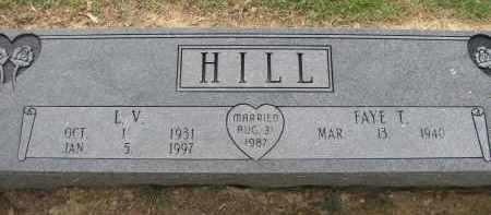 HILL, L V - St. Francis County, Arkansas | L V HILL - Arkansas Gravestone Photos