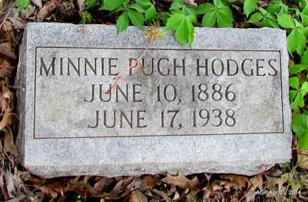 PUGH HODGES, MINNIE - St. Francis County, Arkansas | MINNIE PUGH HODGES - Arkansas Gravestone Photos