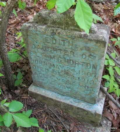 HORTON, EDITH - St. Francis County, Arkansas   EDITH HORTON - Arkansas Gravestone Photos