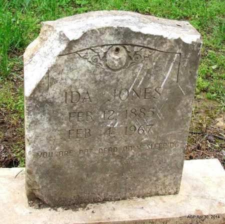 JONES, IDA - St. Francis County, Arkansas | IDA JONES - Arkansas Gravestone Photos