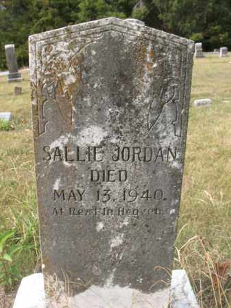 JORDAN, SALLIE - St. Francis County, Arkansas | SALLIE JORDAN - Arkansas Gravestone Photos
