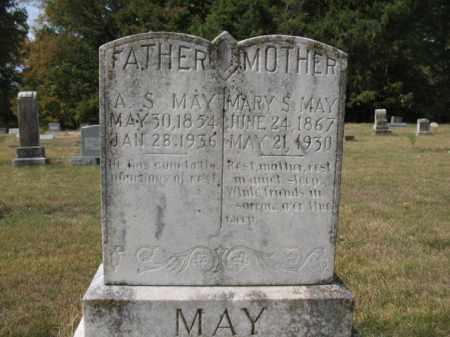 MAY, MARY S - St. Francis County, Arkansas | MARY S MAY - Arkansas Gravestone Photos