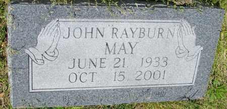 MAY, JOHN RAYBURN - St. Francis County, Arkansas | JOHN RAYBURN MAY - Arkansas Gravestone Photos