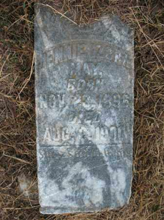 MAY, JENNIE IZORA - St. Francis County, Arkansas | JENNIE IZORA MAY - Arkansas Gravestone Photos