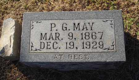 MAY, P G - St. Francis County, Arkansas | P G MAY - Arkansas Gravestone Photos