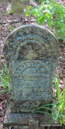 MCDONALD, CHARLIE M - St. Francis County, Arkansas | CHARLIE M MCDONALD - Arkansas Gravestone Photos