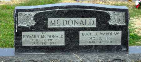 "MCDONALD, EDWARD  ""ED"" - St. Francis County, Arkansas 