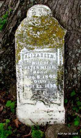 MEIER, ELIZABETH - St. Francis County, Arkansas | ELIZABETH MEIER - Arkansas Gravestone Photos