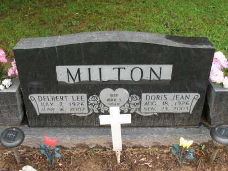 MILTON, DELBERT LEE - St. Francis County, Arkansas   DELBERT LEE MILTON - Arkansas Gravestone Photos