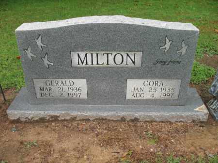 MILTON, CORA - St. Francis County, Arkansas | CORA MILTON - Arkansas Gravestone Photos