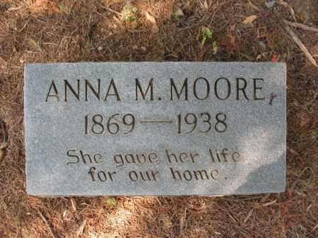 MOORE, ANNA M - St. Francis County, Arkansas | ANNA M MOORE - Arkansas Gravestone Photos