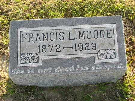 MOORE, FRANCES LOUISE - St. Francis County, Arkansas   FRANCES LOUISE MOORE - Arkansas Gravestone Photos