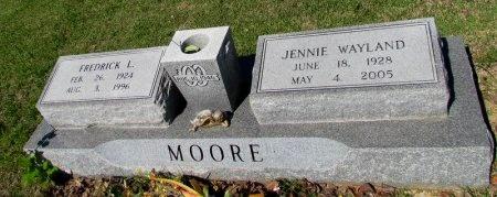 MOORE, FREDRICK L. - St. Francis County, Arkansas   FREDRICK L. MOORE - Arkansas Gravestone Photos