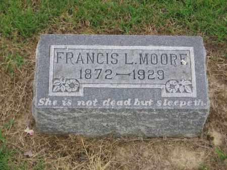 MOORE, FRANCIS L. - St. Francis County, Arkansas | FRANCIS L. MOORE - Arkansas Gravestone Photos