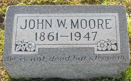 MOORE, JOHN WILLIAM - St. Francis County, Arkansas | JOHN WILLIAM MOORE - Arkansas Gravestone Photos