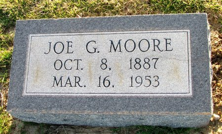 MOORE, JOE G. - St. Francis County, Arkansas   JOE G. MOORE - Arkansas Gravestone Photos