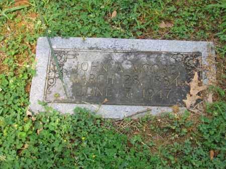 MOORE, JOHN A - St. Francis County, Arkansas | JOHN A MOORE - Arkansas Gravestone Photos