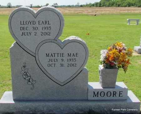 MOORE, MATTIE MAE - St. Francis County, Arkansas | MATTIE MAE MOORE - Arkansas Gravestone Photos