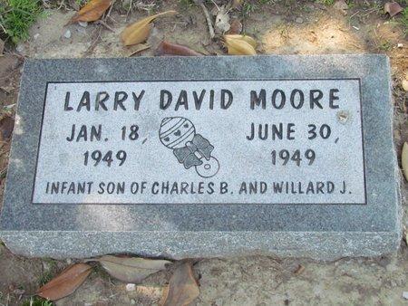 MOORE, LARRY DAVID - St. Francis County, Arkansas | LARRY DAVID MOORE - Arkansas Gravestone Photos