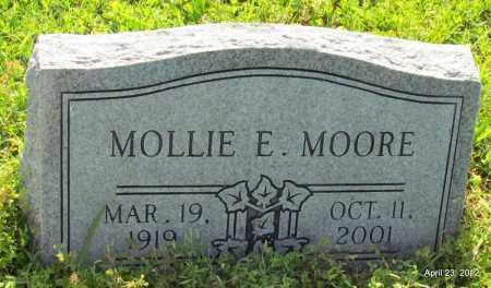 MOORE, MOLLIE E - St. Francis County, Arkansas | MOLLIE E MOORE - Arkansas Gravestone Photos