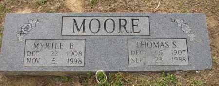 MOORE, MYRTLE B - St. Francis County, Arkansas   MYRTLE B MOORE - Arkansas Gravestone Photos