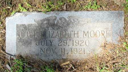 MOORE, OLIVE ELIZABETH - St. Francis County, Arkansas | OLIVE ELIZABETH MOORE - Arkansas Gravestone Photos