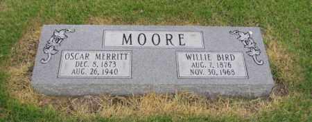MOORE, OSCAR MERRITT - St. Francis County, Arkansas | OSCAR MERRITT MOORE - Arkansas Gravestone Photos