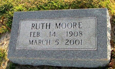 MOORE, RUTH - St. Francis County, Arkansas | RUTH MOORE - Arkansas Gravestone Photos