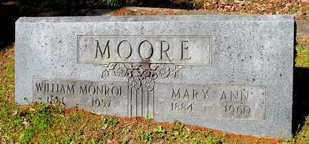 MOORE, MARY ANN - St. Francis County, Arkansas | MARY ANN MOORE - Arkansas Gravestone Photos