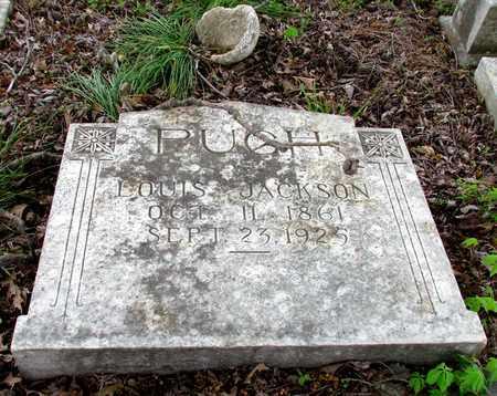 PUGH, LOUIS JACKSON - St. Francis County, Arkansas | LOUIS JACKSON PUGH - Arkansas Gravestone Photos