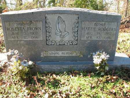 RODGERS BROWN, ROSETTA - St. Francis County, Arkansas | ROSETTA RODGERS BROWN - Arkansas Gravestone Photos