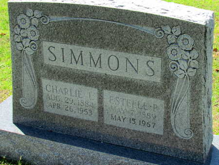 SIMMONS, ESTELLE P - St. Francis County, Arkansas | ESTELLE P SIMMONS - Arkansas Gravestone Photos
