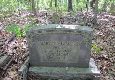 SIMMONS, MARY E (OVERVIEW) - St. Francis County, Arkansas | MARY E (OVERVIEW) SIMMONS - Arkansas Gravestone Photos