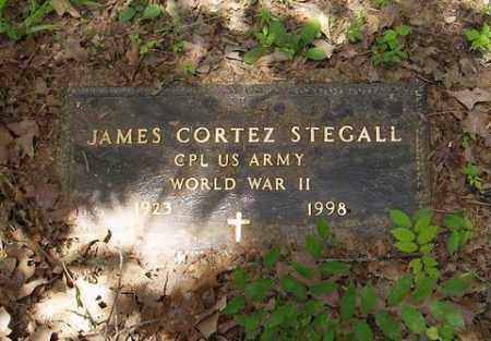 STEGALL (VETERAN WWII), JAMES CORTEZ - St. Francis County, Arkansas | JAMES CORTEZ STEGALL (VETERAN WWII) - Arkansas Gravestone Photos