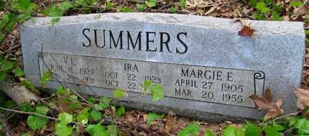 SUMMERS, MARGIE E - St. Francis County, Arkansas | MARGIE E SUMMERS - Arkansas Gravestone Photos