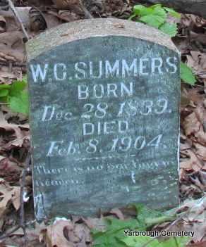 SUMMERS, W C - St. Francis County, Arkansas | W C SUMMERS - Arkansas Gravestone Photos