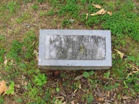 WHITE, ALLEYNE - St. Francis County, Arkansas | ALLEYNE WHITE - Arkansas Gravestone Photos