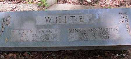 WHITE, CARY ISAAC - St. Francis County, Arkansas   CARY ISAAC WHITE - Arkansas Gravestone Photos